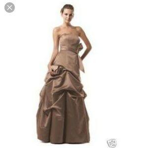 David's Bridal Latte Wedding Dress Bridesmaids